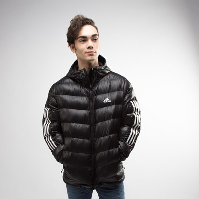 Main view of Mens adidas Itavic 3-Stripes Puffer Jacket