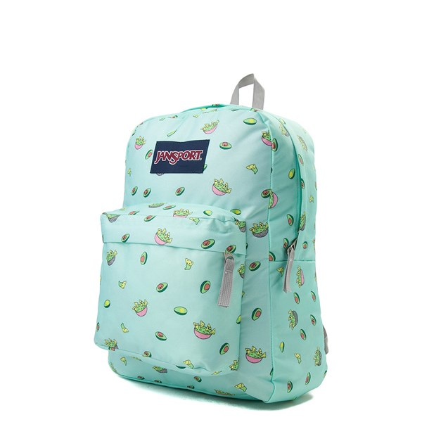 alternate view JanSport Superbreak Avocado Party BackpackALT2