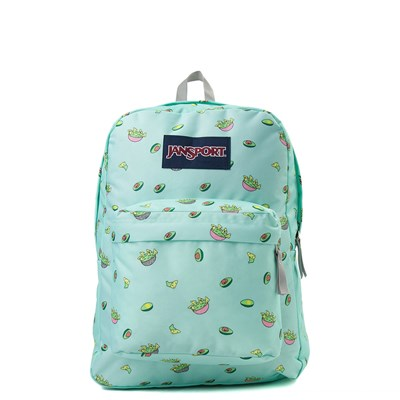 Main view of JanSport Superbreak Avocado Party Backpack