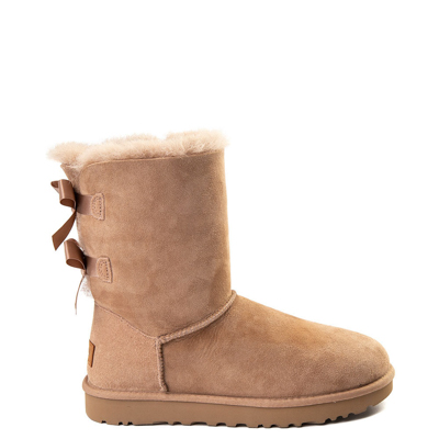 Main view of Womens UGG Tan Bailey Bow II Boot