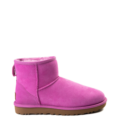 Main view of Womens UGG Classic II Mini Boot in Bright Pink