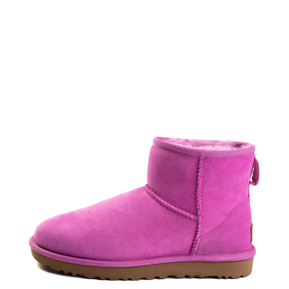 Womens UGG Classic II Mini Boot in Bright Pink
