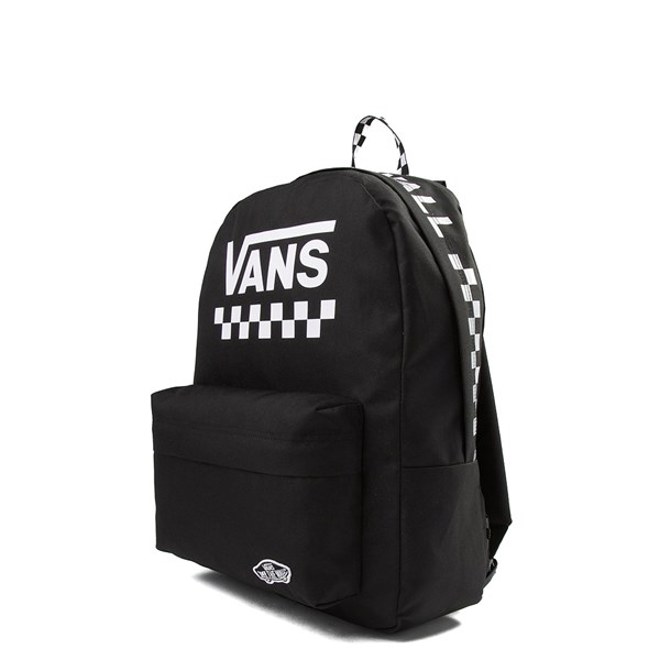 alternate view Vans Sporty Realm Checkered Backpack - Black / WhiteALT2