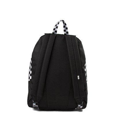 Alternate view of Vans Sporty Realm Checkered Backpack - Black / White
