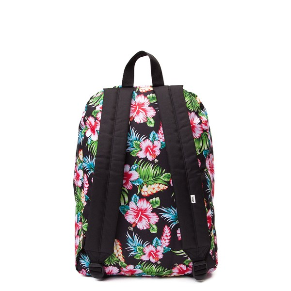 alternate view Vans Realm Hawaiian Floral Backpack - MultiALT1