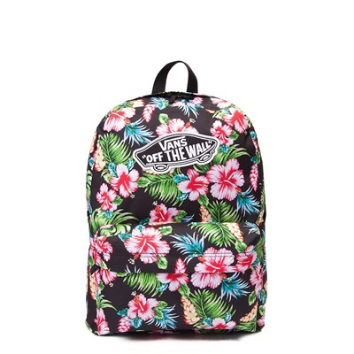 Main view of Vans Realm Hawaiian Floral Backpack