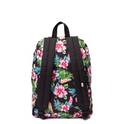 Alternate view of Vans Realm Hawaiian Floral Backpack - Multi