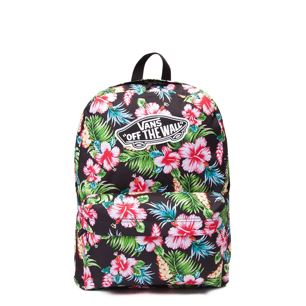 Vans Realm Hawaiian Floral Backpack Journeys