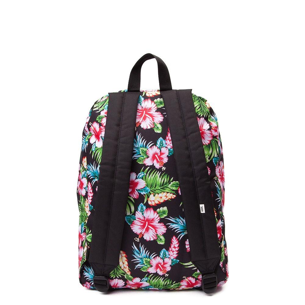 4dd046d163 Vans Realm Hawaiian Floral Backpack. Previous. alternate image ALT2.  alternate image default view. alternate image ALT1