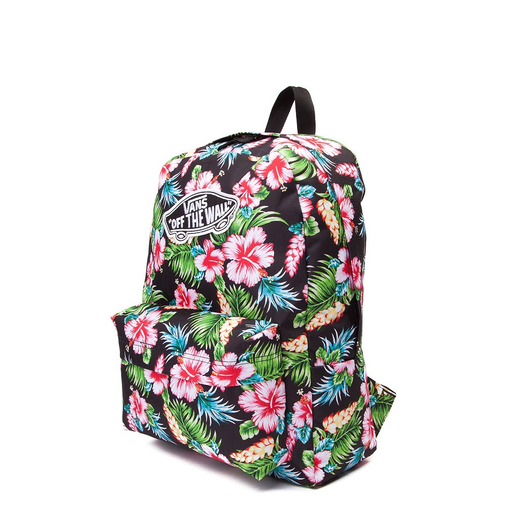 438e43fa1d7310 Vans Realm Hawaiian Floral Backpack. Previous. alternate image ALT2