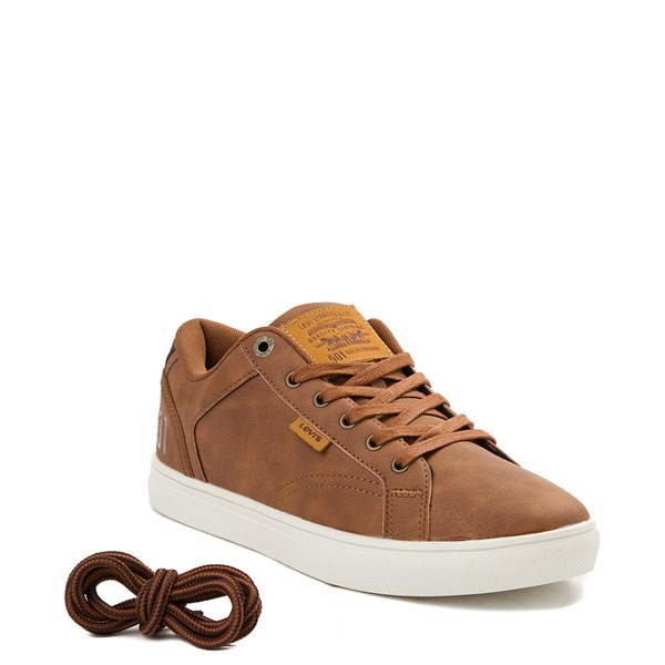 alternate view Mens Levi's 501® Jeffrey Casual Shoe - TanALT1