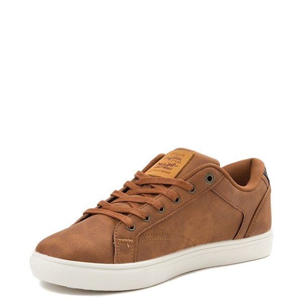 alternate view Mens Levi's 501® Jeffrey Casual Shoe - TanALT3