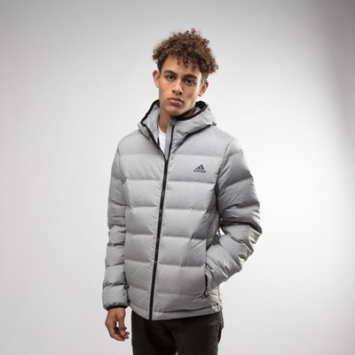Main view of Mens adidas Helionic Puffer Jacket