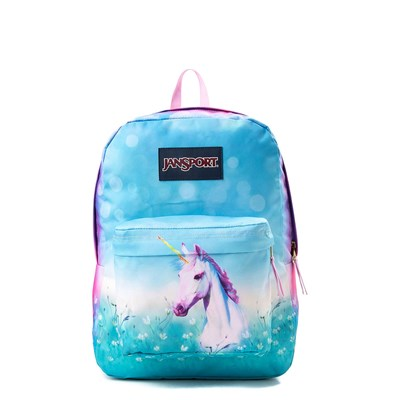 Main view of JanSport High Stakes Unicorn Dream Backpack