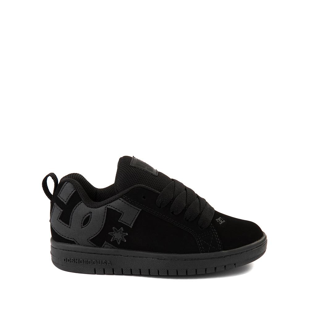 DC Court Graffik Skate Shoe - Little Kid / Big Kid - Black Monochrome