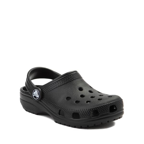 alternate view Crocs Classic Clog - Little Kid / Big Kid - BlackALT5