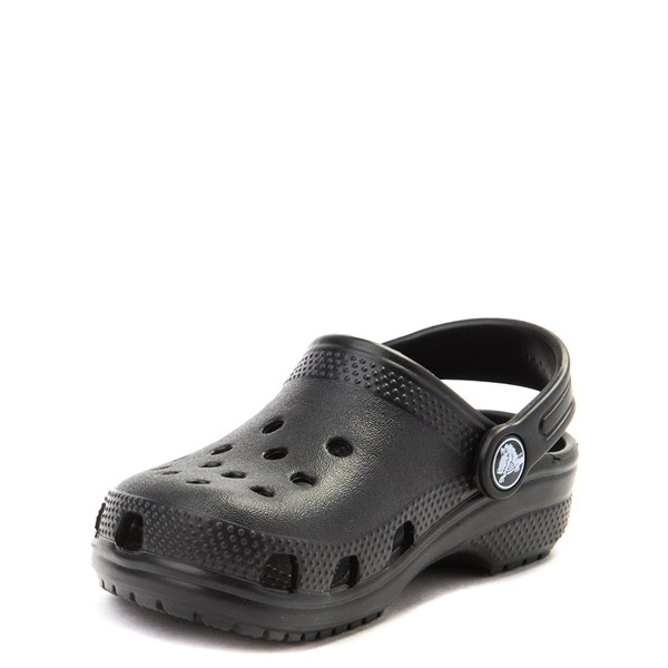 alternate view Crocs Classic Clog - Little Kid / Big Kid - BlackALT3