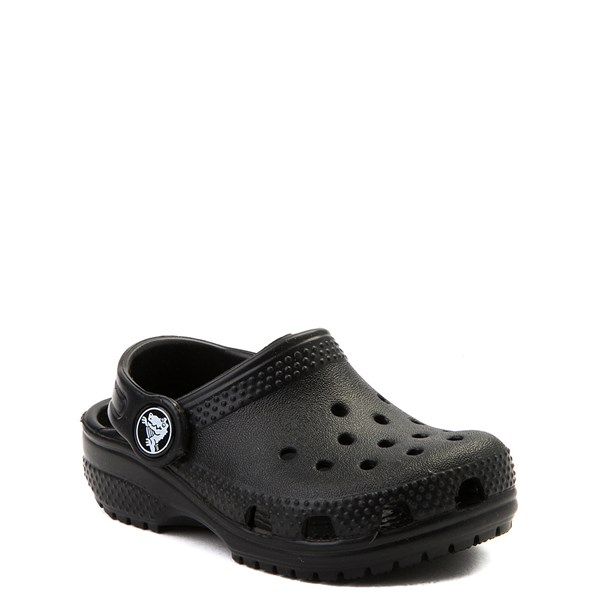 alternate view Crocs Classic Clog - Baby / Toddler / Little Kid - BlackALT1