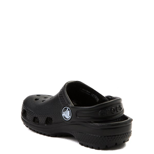 alternate view Crocs Classic Clog - Baby / Toddler / Little Kid - BlackALT2