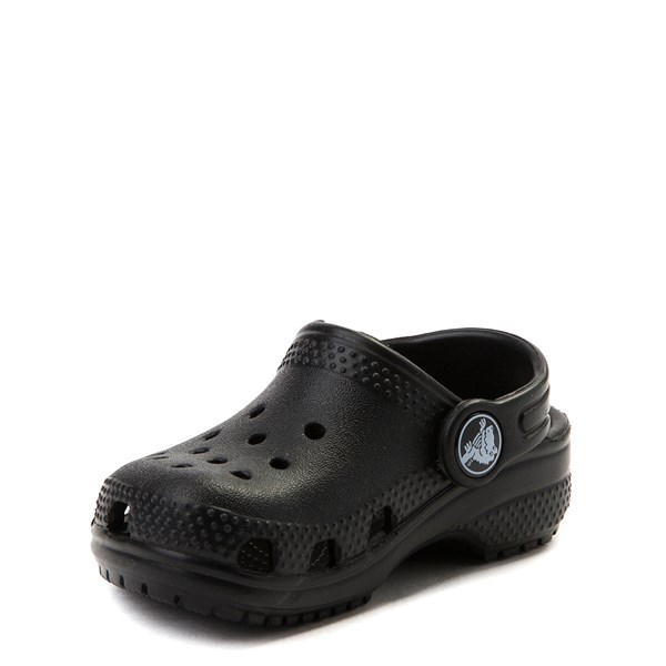 alternate view Crocs Classic Clog - Baby / Toddler / Little Kid - BlackALT3