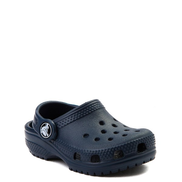 alternate view Crocs Classic Clog - Baby / Toddler / Little Kid - NavyALT1