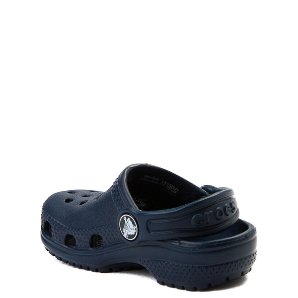 alternate view Crocs Classic Clog - Baby / Toddler / Little Kid - NavyALT2
