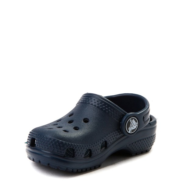 alternate view Crocs Classic Clog - Baby / Toddler / Little Kid - NavyALT3
