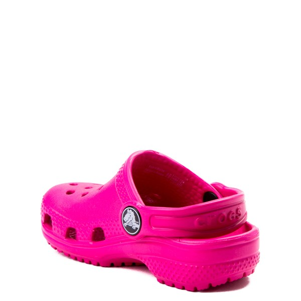 alternate view Crocs Classic Clog - Baby / Toddler / Little Kid - Dark PinkALT2
