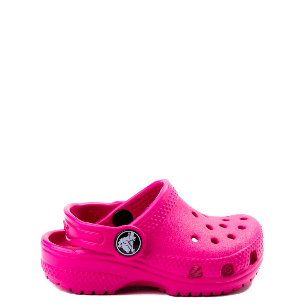 Crocs Classic Clog - Baby / Toddler / Little Kid - Dark Pink