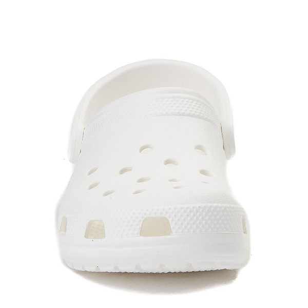 alternate view Crocs Classic Clog - WhiteALT4