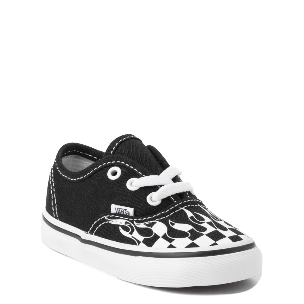 97c8d0c139397c Vans Authentic Checkered Flame Skate Shoe - Baby   Toddler