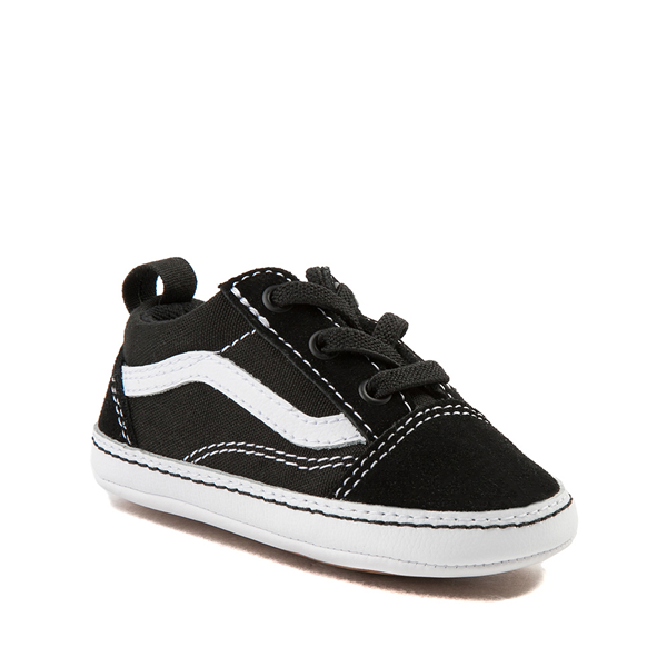 alternate view Vans Old Skool Skate Shoe - Baby - BlackALT5