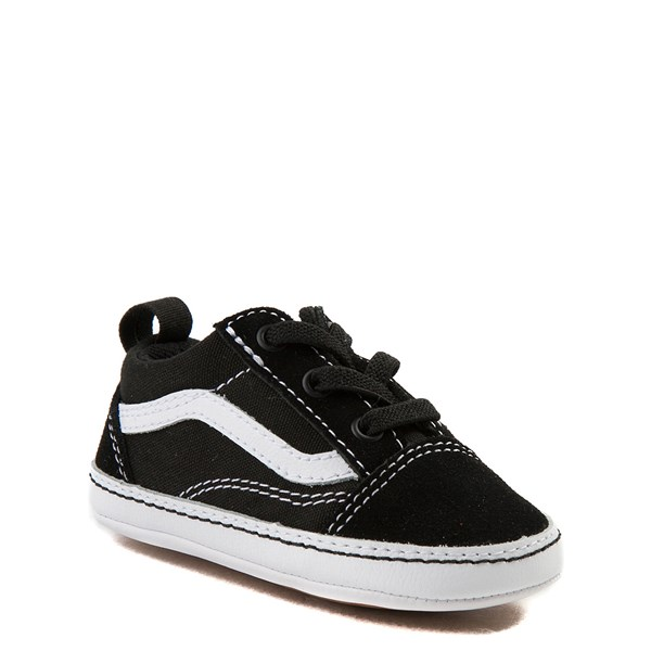 alternate view Vans Old Skool Skate Shoe - Baby - Black / WhiteALT1