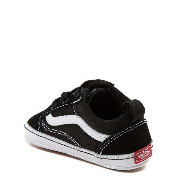 alternate view Vans Old Skool Skate Shoe - Baby - Black / WhiteALT2
