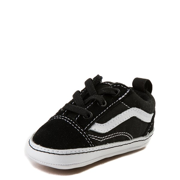 alternate view Vans Old Skool Skate Shoe - Baby - Black / WhiteALT3