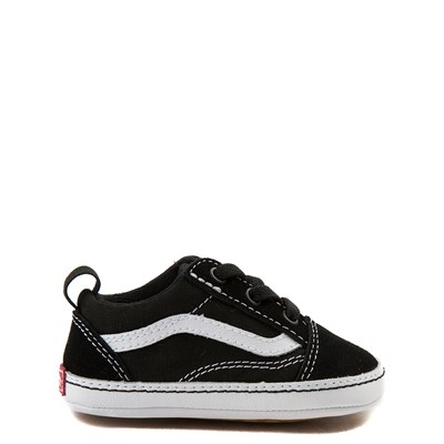 Main view of Vans Old Skool Skate Shoe - Baby - Black / White