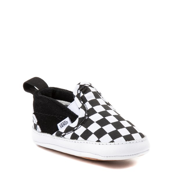 Alternate view of Vans Slip On V Chex Skate Shoe - Baby
