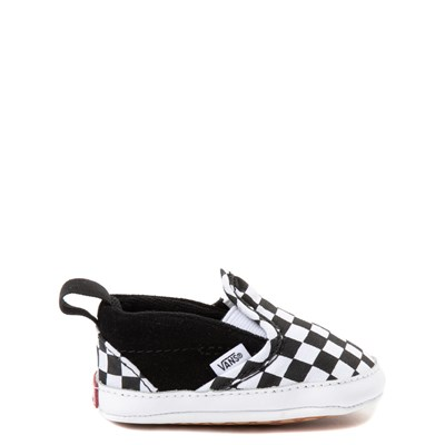 Crib Vans Slip On V Chex Skate Shoe