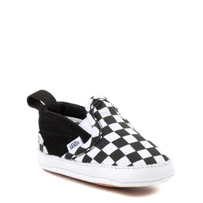 Alternate view of Crib Vans Slip On V Chex Skate Shoe