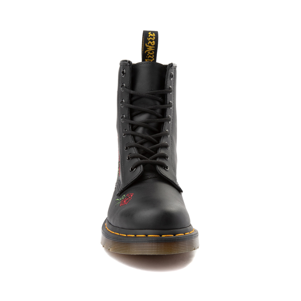 alternate view Womens Dr. Martens 1460 8-Eye Vonda Boot - BlackALT4