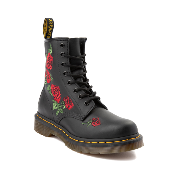 alternate view Womens Dr. Martens 1460 8-Eye Vonda Boot - BlackALT5