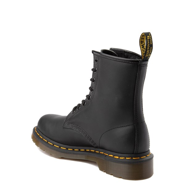 alternate view Womens Dr. Martens 1460 8-Eye Vonda Boot - BlackALT2