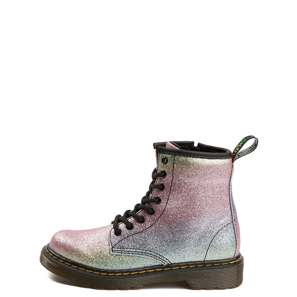 Dr. Martens 1460 8-Eye Glitter Boot - Girls Big Kid
