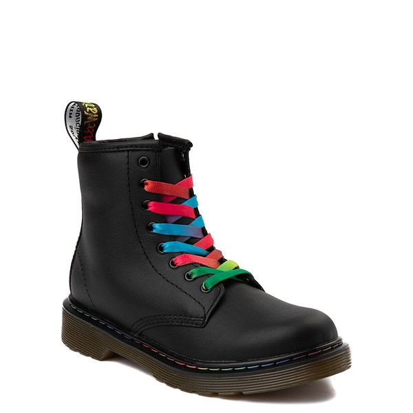 alternate view Dr. Martens 1460 Multicolor Stitch 8-Eye Boot - Little KidALT1