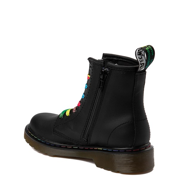 alternate view Dr. Martens 1460 Multicolor Stitch 8-Eye Boot - Little KidALT2