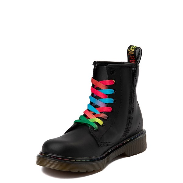 alternate view Dr. Martens 1460 Multicolor Stitch 8-Eye Boot - Little KidALT3
