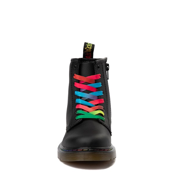 alternate view Dr. Martens 1460 Multicolor Stitch 8-Eye Boot - Little KidALT4
