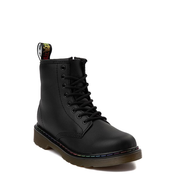 alternate view Dr. Martens 1460 Multicolor Stitch 8-Eye Boot - Little KidALT6