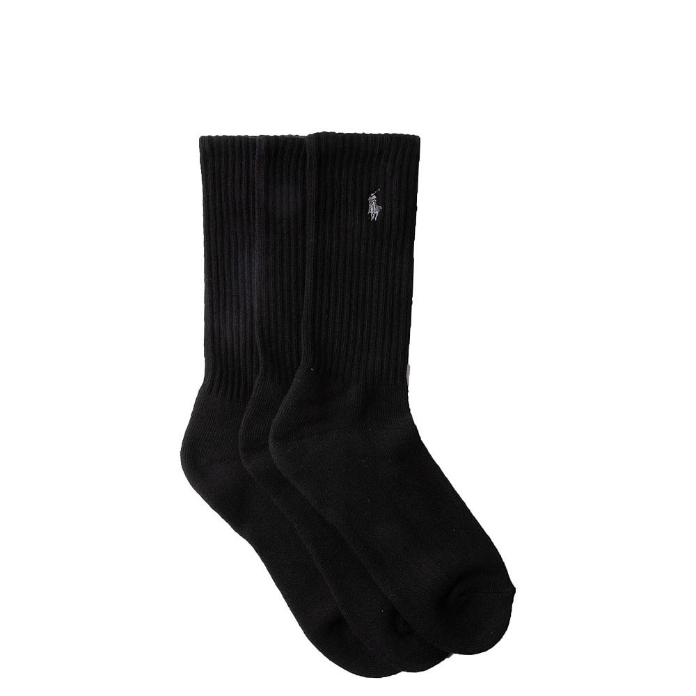 Mens Polo Ralph Lauren Pony Crew Socks 6 Pack
