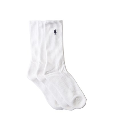 Main view of Mens Polo Ralph Lauren Pony Crew Socks 6 Pack